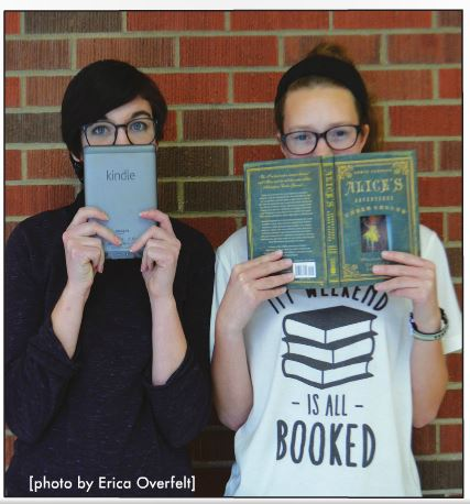 HEAD TO HEAD: eBooks make it easier to read anywhere you want