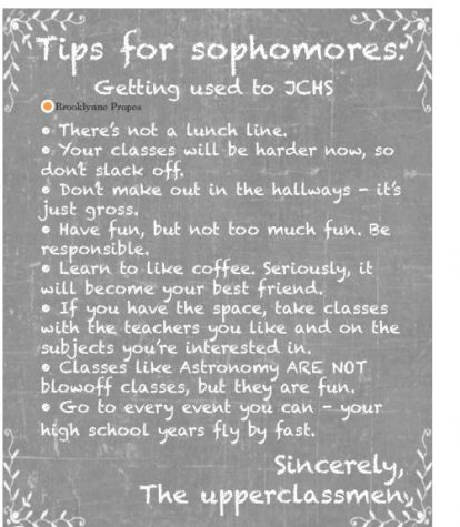Sophomore Hotspot: Tips and Advice for Sophomores