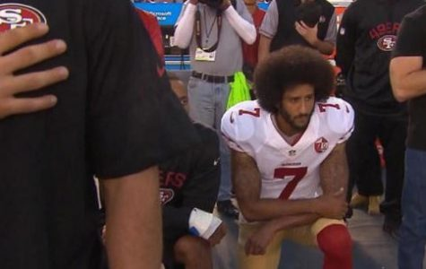 Athletes use national anthem to protest
