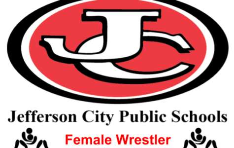 Jeff City High School's only female wrestler