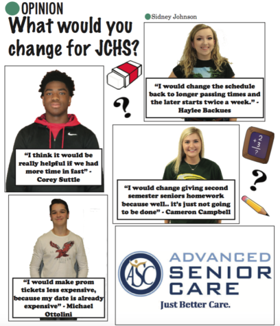 What would you change for JCHS